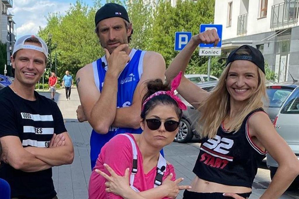 Katarzyna Cichopek, Marcin Hakiel, Joanna Koroniewska, Maciej Dowbor