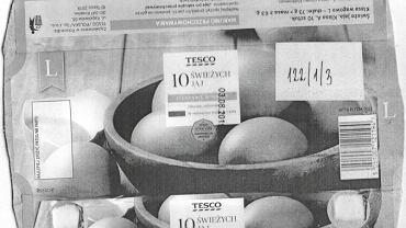 Jaja z Tesco objęte kontrolą sanitarną
