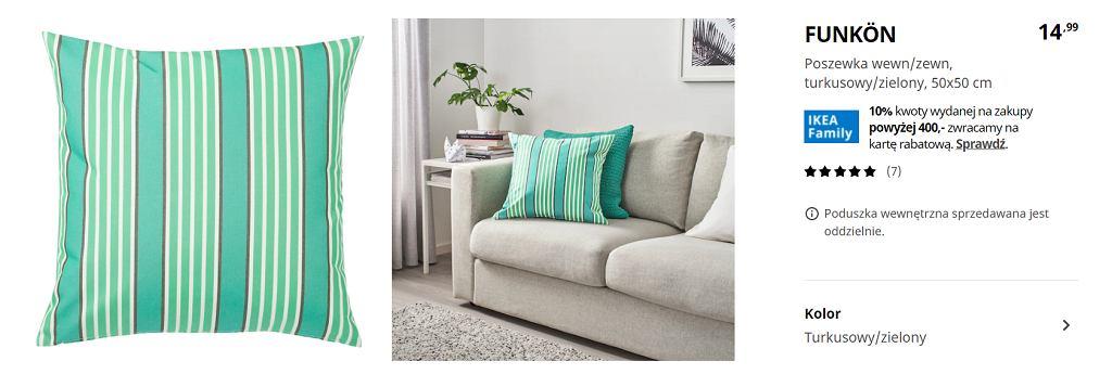 Poduszka Ikea