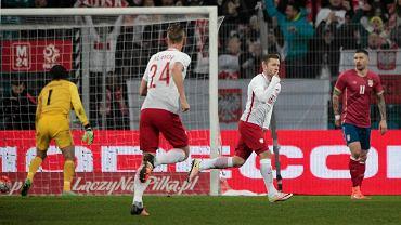 Polska - Serbia 1:0 w meczu towarzyskim w Poznaniu. Jakub Błaszczykowski
