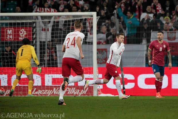 Zdjęcie numer 0 w galerii - Polska - Serbia 1:0 w Poznaniu. Gol Błaszczykowskiego ucieszył prawie 40 tys. widzów [ZDJĘCIA]