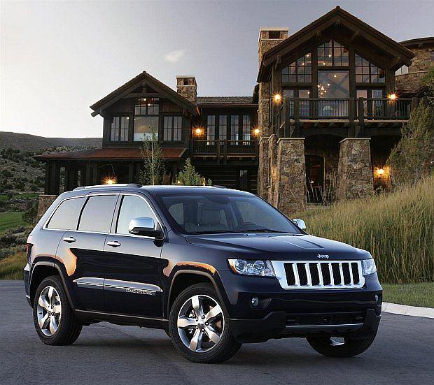 Grand Cherokee znajduje się w ofercie od 1993 roku. Na zdjęciu wersja z silnikiem 5,7 litra
