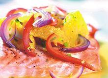 Łosoś w sosie pomarańczowo-imbirowym - ugotuj