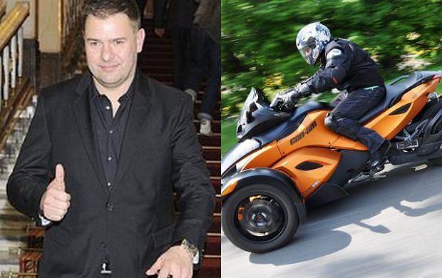 Tomasz Karolak, motocykl