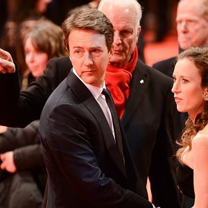 Edward Norton podczas Berlinale 2014
