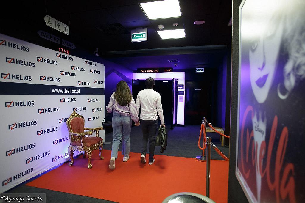 Widzowie szturmują kina. Rekordowy weekend w sieci Helios (zdjęcie ilustracyjne)