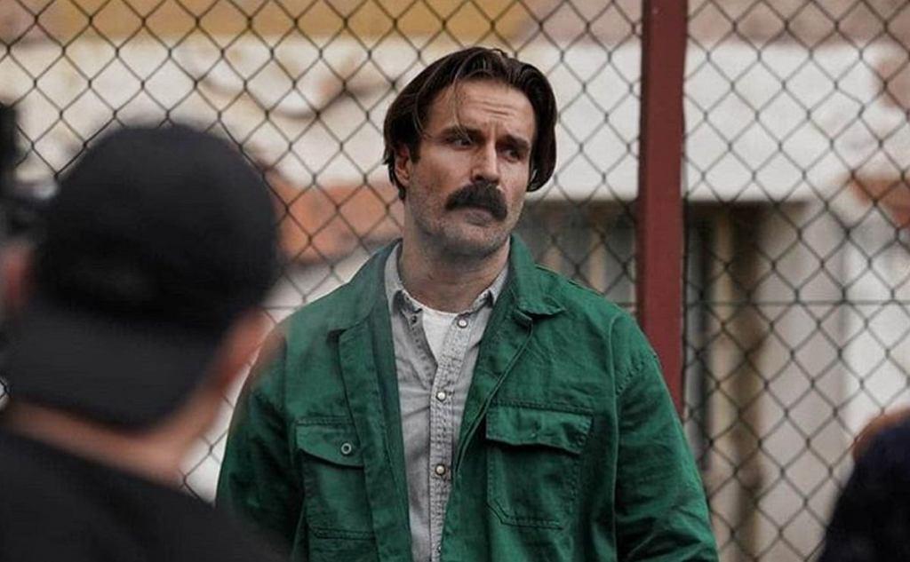 Piotr Stramowski na planie filmu 'Mój dług'