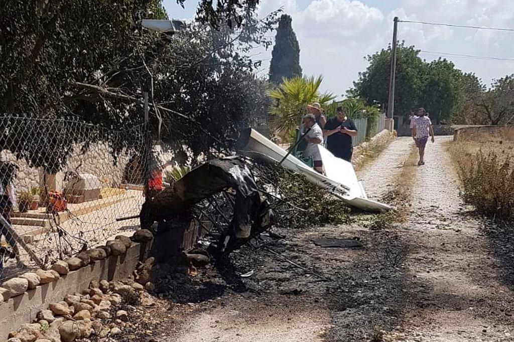 Pięć osób zginęło w katastrofie lekiego samolotu i helikoptera na Majorce