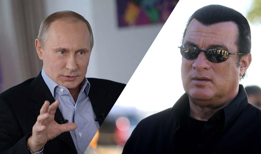 Władimir Putin nadał obywatelstwo Stevenowi Seagalowi, amerykańskiego aktorowi