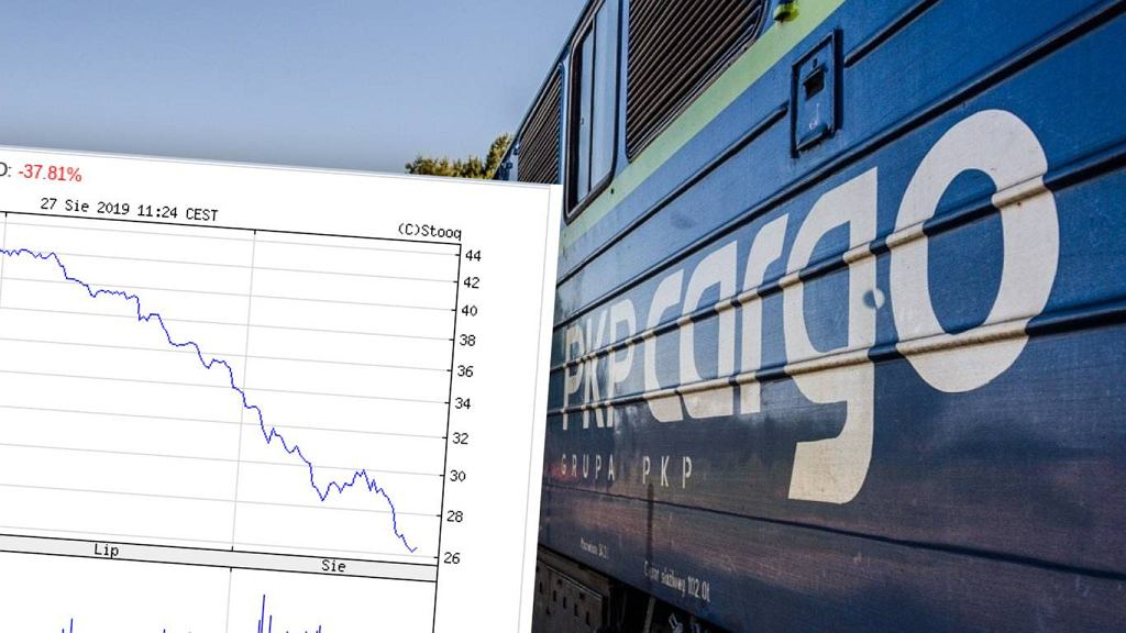 PKP Cargo odnotowuje spadek wyceny akcji
