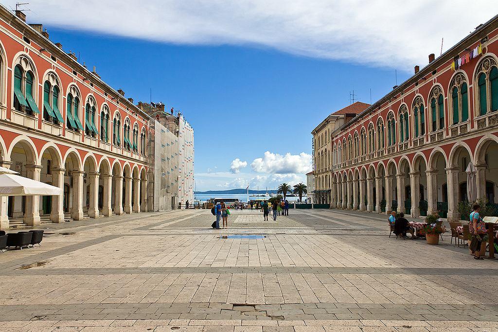 Chorwacja Split - Trg Republike