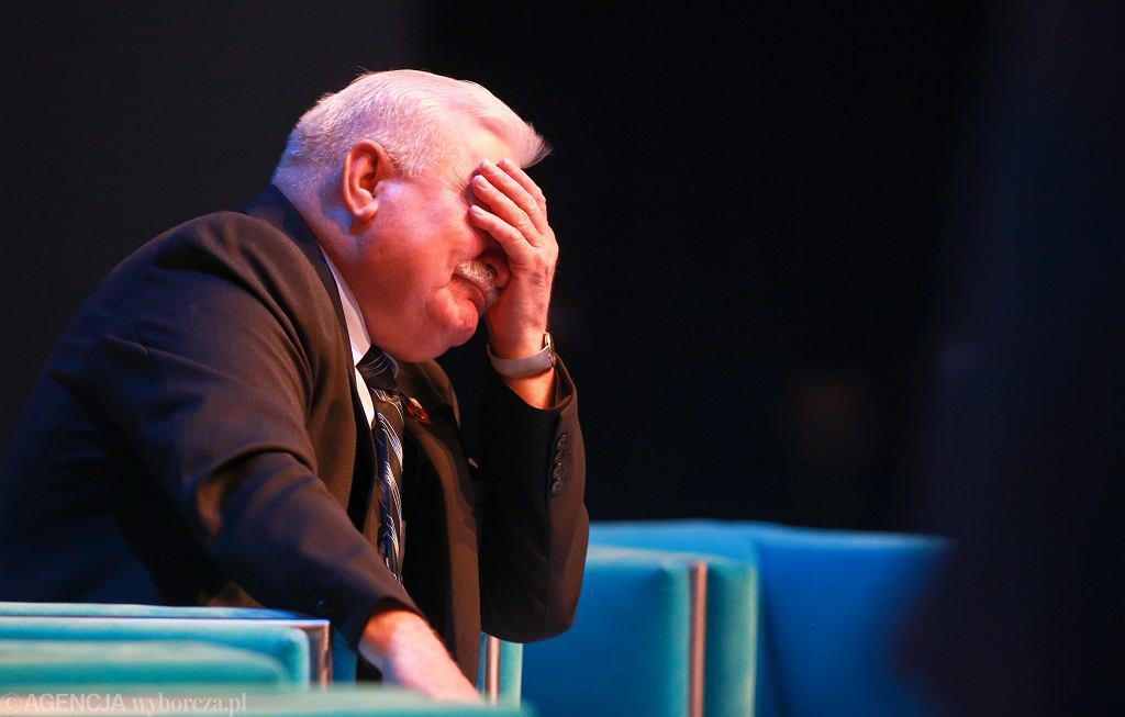 Lech Wałęsa podczas VIII Europejskiego Forum Gospodarczego