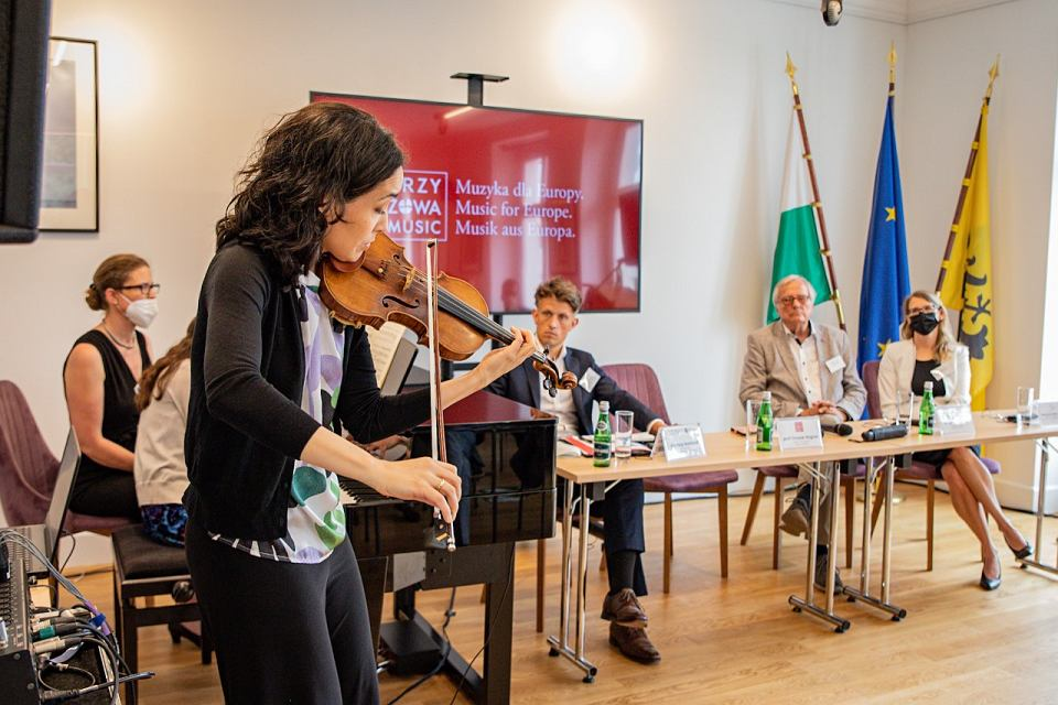 Biuro Saksonii we Wrocławiu ostatnio promowało 7. Festiwal Muzyki Kameralnej Krzyżowa-Music