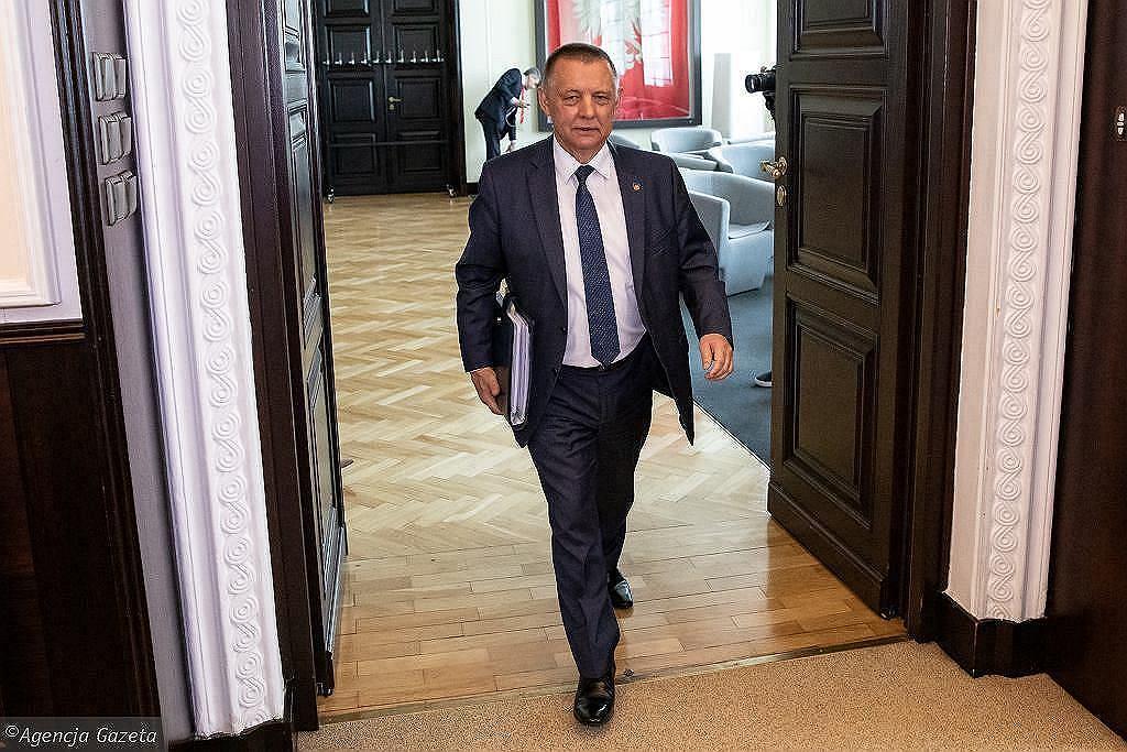 Marian Banaś. Zdjęcie ilustracyjne - Fot. Sławomir Kamiński / Agencja Gazeta