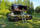 Weekend na dachu Subaru Outback. Nigdy nie lubiłem namiotów. Do teraz