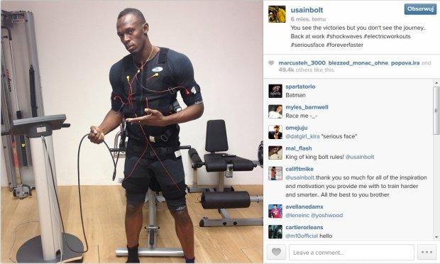 Usain Bolt, EMS