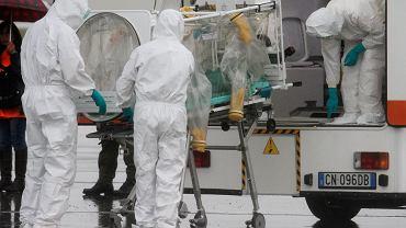 Gorączkę krwotoczną Ebola wywołuje wirus o tej samej nazwie