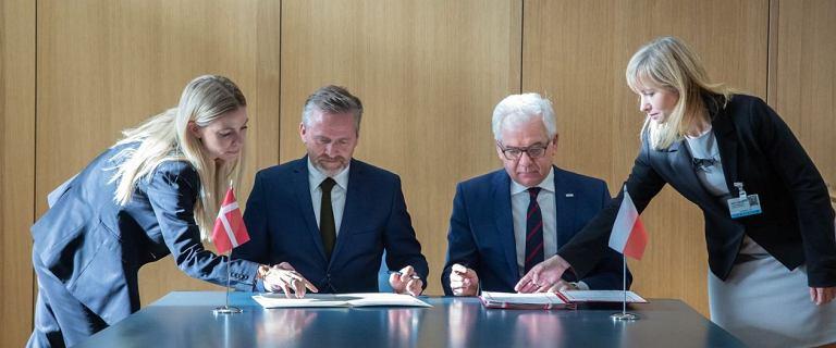 Polska i Dania kończą spór o granicę. Jest umowa