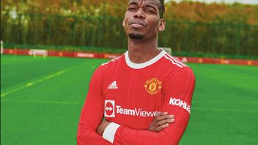 Nowe stroje Manchesteru United, oficjalnie. Źródło: Manchester United (oficjalna strona)