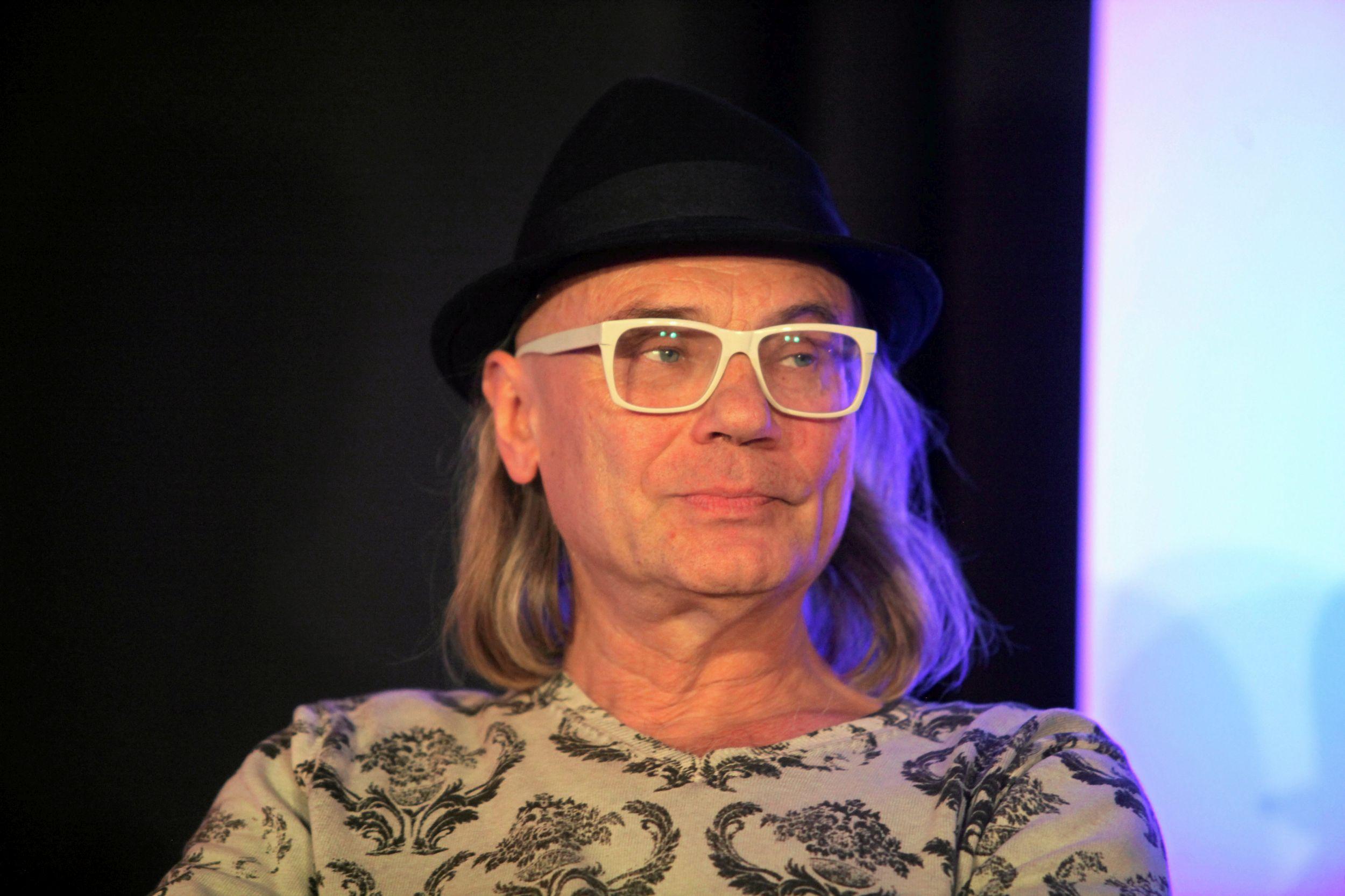 Kamil Sipowicz podczas debaty o kulturze partii Twój Ruch (fot. Mieczysław Michalak / Agencja Gazeta)