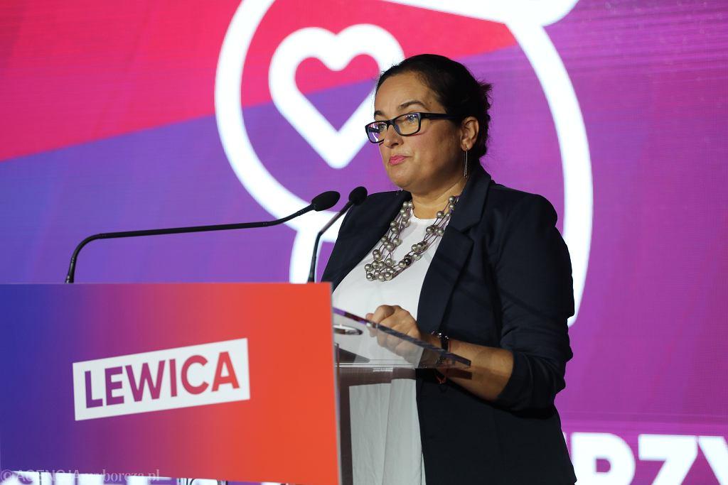 Anita Kucharska-Dziedzic. Jesienna Ramówka Lewicy - politycy Lewicy zaprezentowali cztery najważniejsze obszary działań i projekty ustaw, 13 września 2020.