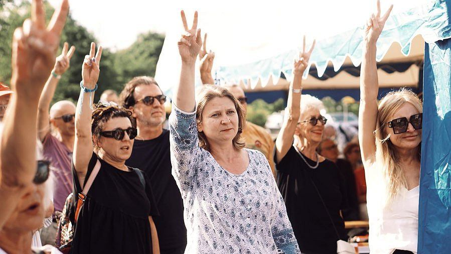 Solidarni z Białorusią. Festiwal Góry Literatury