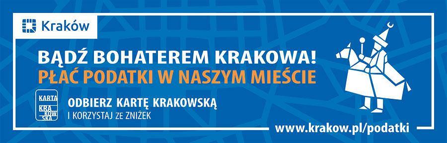 6fbb3c17f72082 Kampania promująca akcję płacenia podatków w Krakowie.