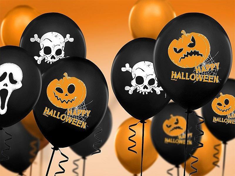 Halloweenowe balony