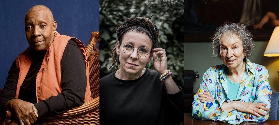 Faworytki do Nobla 2019: Maryse Condé, Olga Tokarczuk, Margaret Atwood