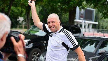 Łysy trener Kalju Nomme Igor Prins