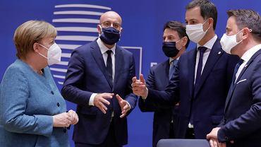 01.10.2020 Bruksela. Europejscy przywódcy podczas szczytu Unii Europejskiej