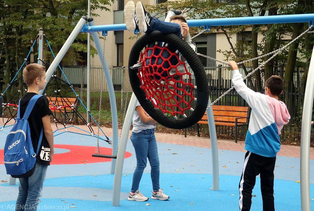 Nowe plac zabaw i siłownia przy al. Jachowicza