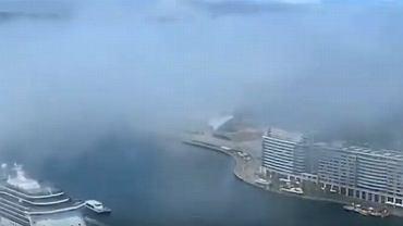 Niezwykła i rzadko występująca mgła pojawiła się na plaży w Sydney