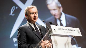 Bernard Arnault, prezes i współwłaściciel LVMH