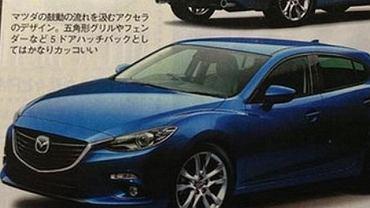 Czy tak będzie wyglądać nowa Mazda 3?