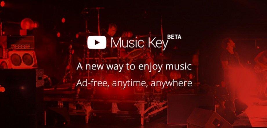 Music Key - nowa usługa YouTube