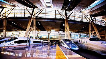 Chińskie pociągi wielkich prędkości