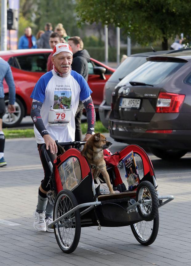 Zdjęcie numer 81 w galerii - Ponad 1200 biegaczy na starcie 37. Toruń Maraton, wygrał Łukasz Oskierko [ZDJĘCIA]