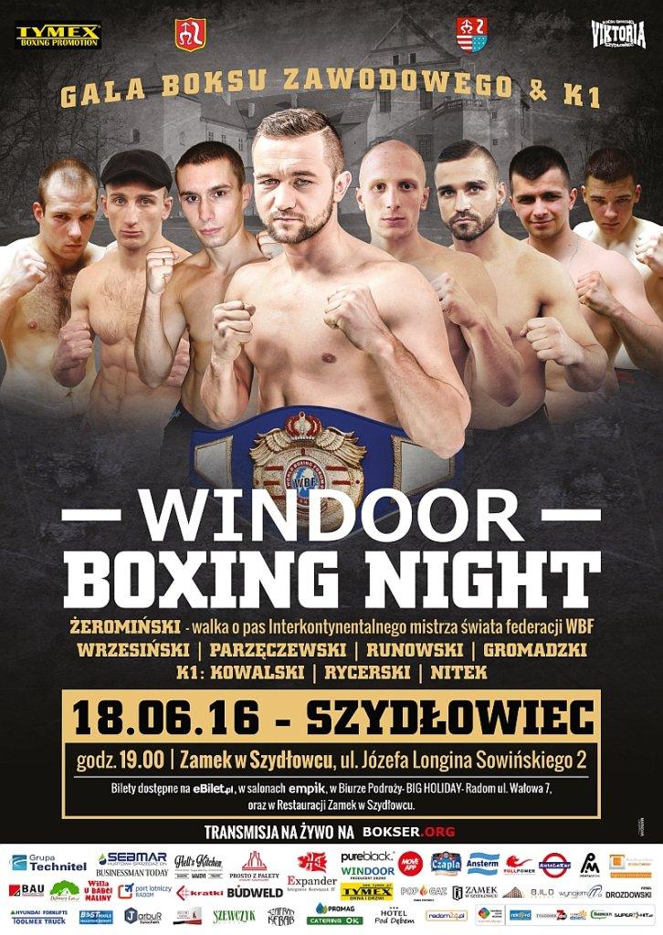 Gala boksu zawodowego w Szydłowcu