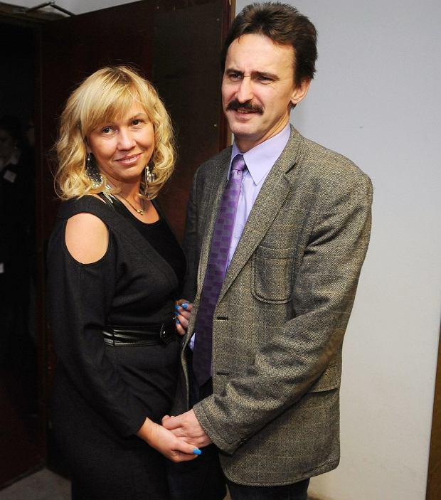 Bogdan Wałęsa z żoną Małgorzatą