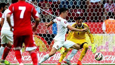 Polska - Gruzja 4:0. Robert lewandowski