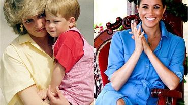 Księżna Diana, książę Harry, Meghan Markle