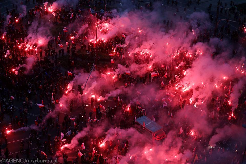 Marsz Niepodlegoci w Warszawie