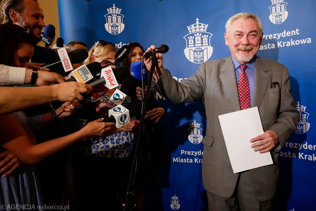 Jacek Majchrowski wystartuje w wyborach samorządowych 2018 w Krakowie