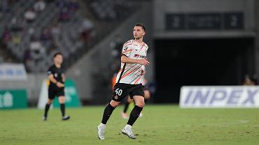Jakub Świerczok w barwach Nagoya Grampus