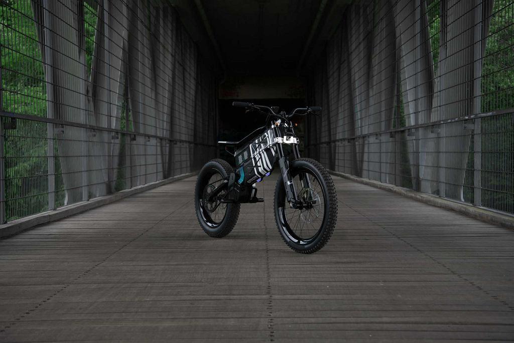 BMW Motorrad Vision AMBY, elektryczny moto-rower crossowy