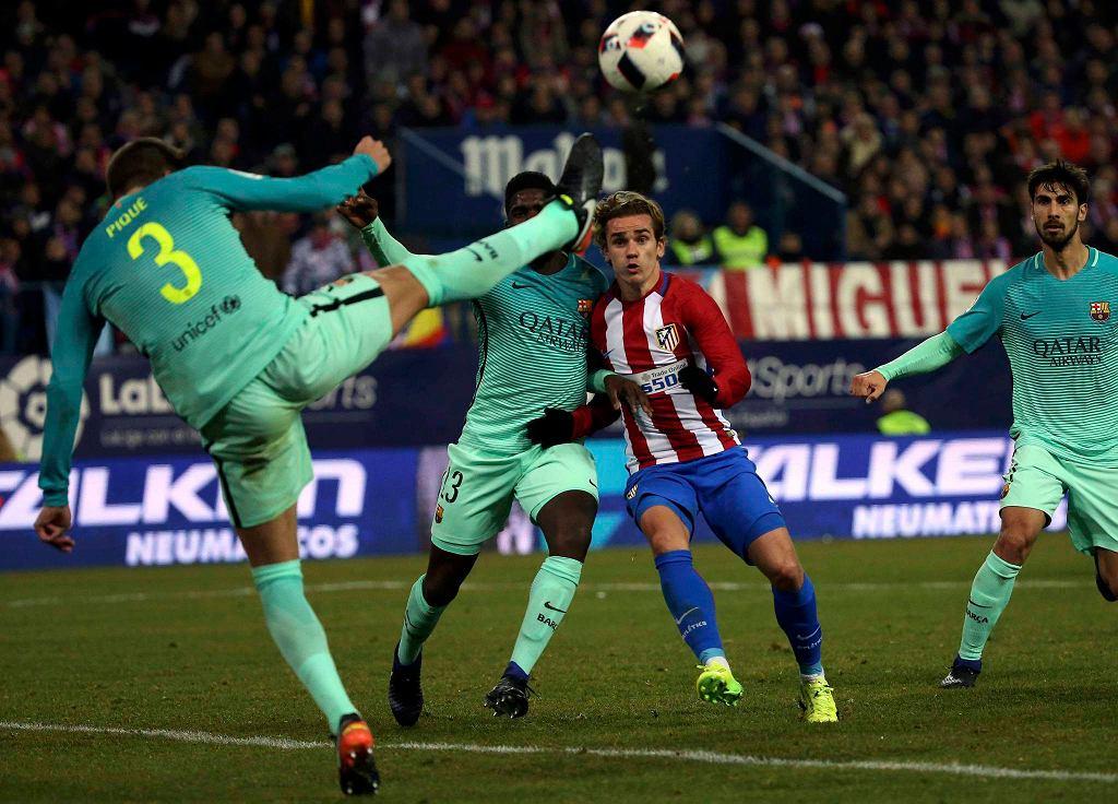 Puchar Króla. Atletico - Barcelona 1:2