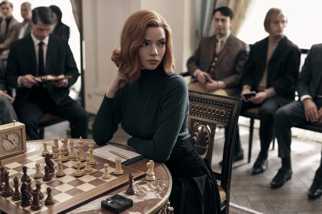 Anya Taylor-Joy w serialu 'Gambit królowej'