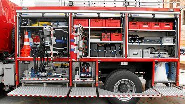 Wóz strażacki - zdjęcie ilustracyjne