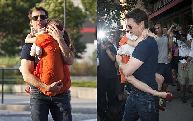Tom Cruise, Suri Cruise.